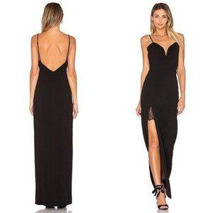 Lovers + Friends Cordoba Maxi Dress Black Medium